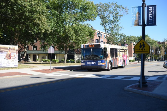 Despite mixed reactions to changes, students are still riding the busses. (File photo/The Daily Campus)