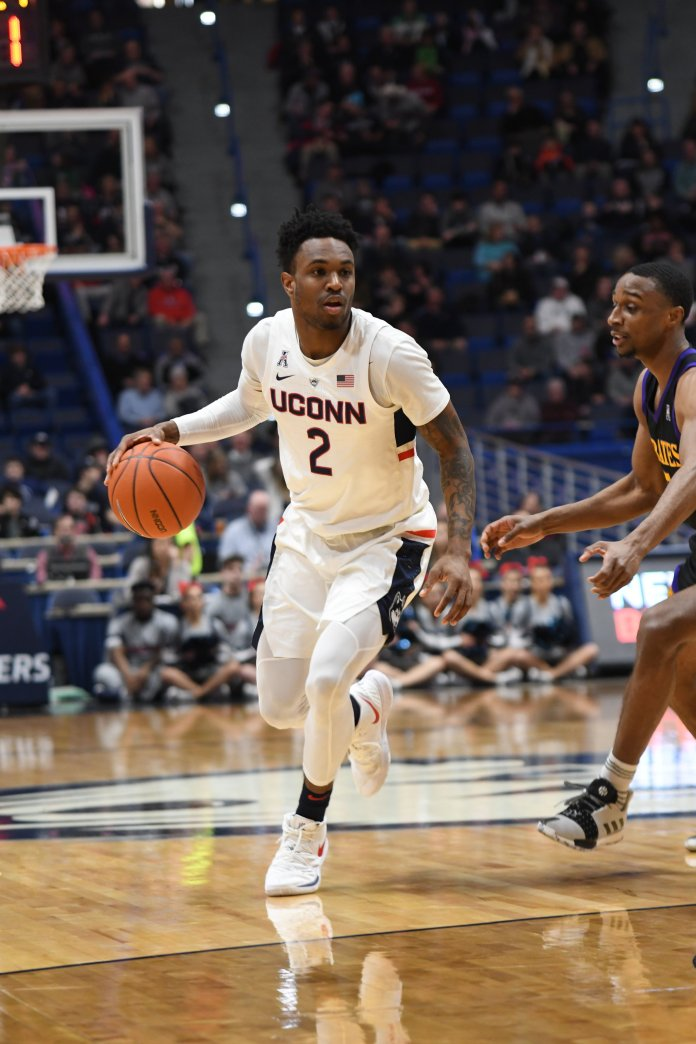 If Alterique Gilbert is able to return for the Huskies, it could give the team a much-needed boost. Photo by Eric Wang/The Daily Campus