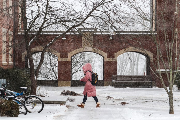 The tough New England winters can drive UConn students to Cuff over those miserable months (Judah Shingleton/The Daily Campus)