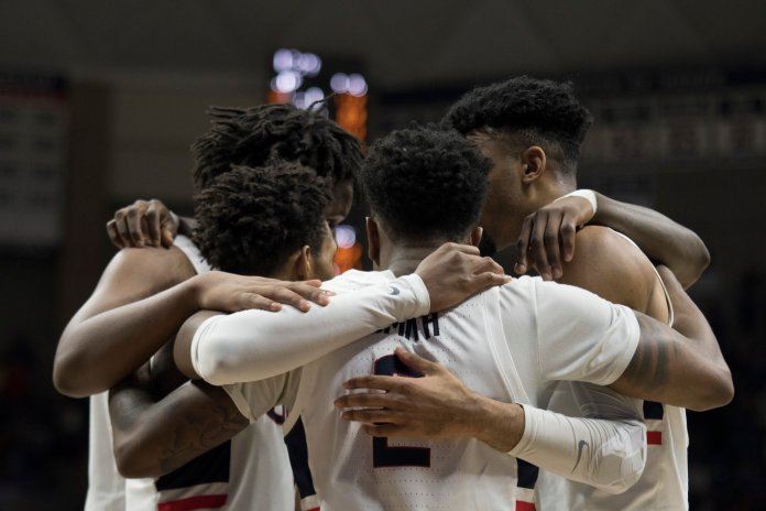 UConn Men's Basketball. (Photo by Eric Wang/The Daily Campus)
