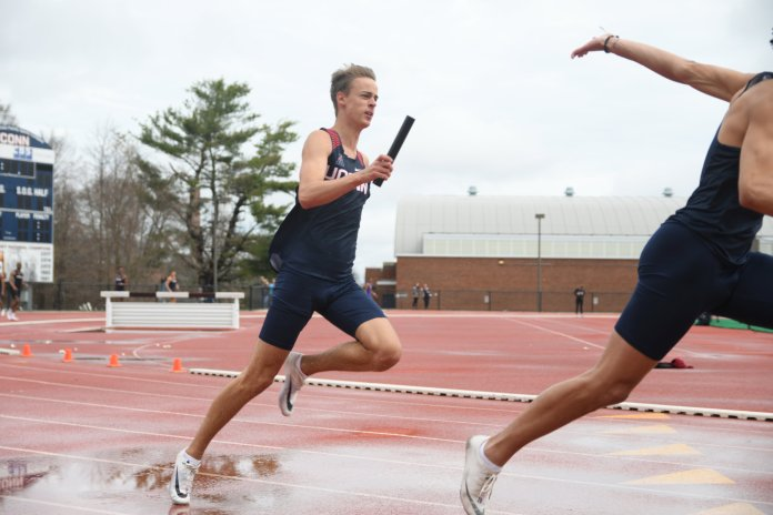 The closest team to UConn was Southern Connecticut, who finished the meet with 90 points. (Judah Shingleton/The Daily Campus)