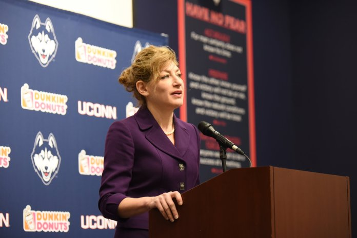 The Student Bar Association claims that Herbst was the one behind the cancellation and forced Fisher to take the blame. (File photo/The Daily Campus)