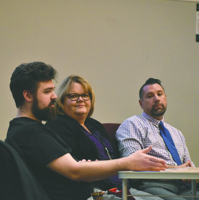 This semester, the WGSS 2255 class focused their activism work on substance abuse, specifically opioid addiction. (Kevin Lindstrom/The Daily Campus)