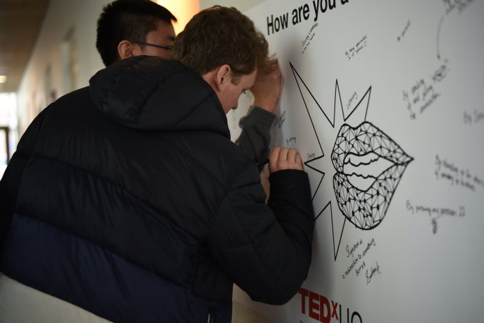 """TEDxUConn will be hosting their first fall conference, entitled """"Crushing the Comfort Zone,"""" on October 6. Photos courtesy of The Daily Campus."""
