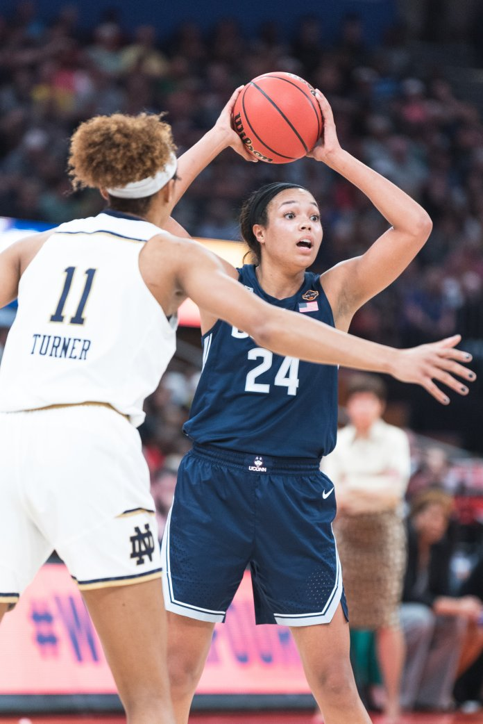 Women's Basketball Final Four from April 5, 2019.  Photo by Charlotte Lao / The Daily Campus