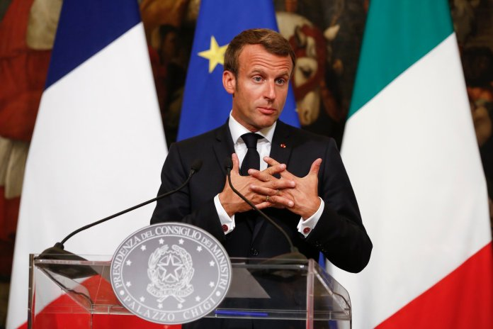 French President Emmanuel Macron's attempts to salvage the deal are negated through a purely economic question: What can Macron offer the Iranians in exchange for their  compliance with the conditions on the nuclear project?   Photo by Domenico Stinellis/AP