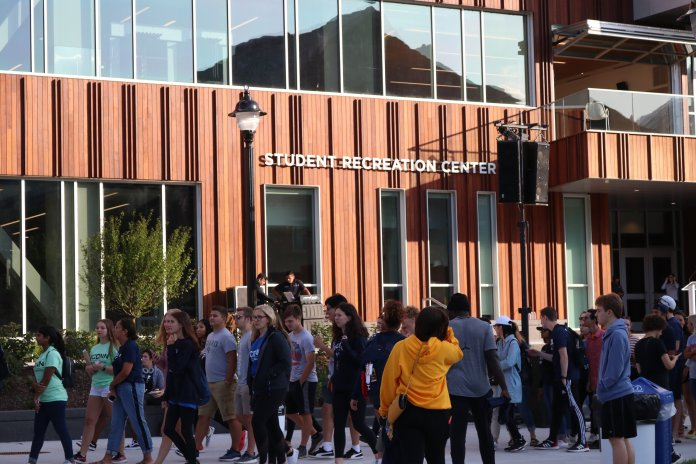 The Rec Center crop top ban started gaining awareness on Facebook last week, and since then, students haven't shied away from voicing their opinions on it.  Photo by Maggie Chafouleas / The Daily Campus