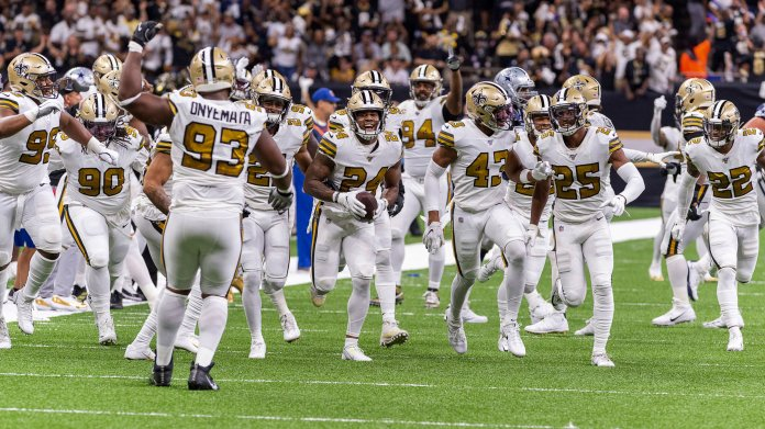 The New Orleans Saint are 2-0 with Teddy Bridgewater at the helm with their most recent win coming against the Dallas Cowboys. This leads many to believe that when the Hall of Fame QB returns the Saints will be the strongest team in the NFL.  Photo from The Associated Press.