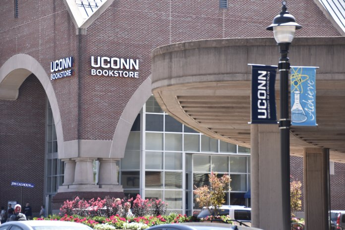 Prior to 2016, the UConn Bookstore was managed by a student cooperative. But now, the bookstore is owned by a national corporation who could not care less about your voice.  File Photo/The Daily Campus