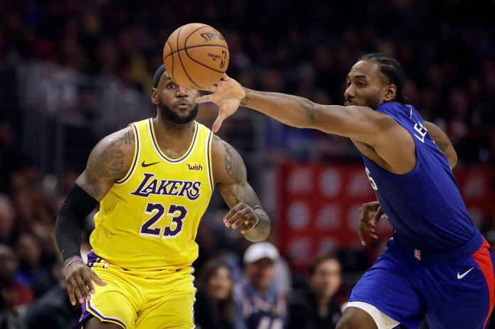 NBA season is officially upon us. The Daily Campus Sports Staff discuss whether Leonard and George are the best pairing for the league.  AP Photo/Marcio Jose Sanchez