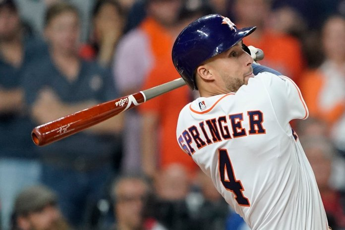 Astro will have a tough time bouncing back from their home loss. However, Springer has come up with a home run in five consecutive World Series games and has continued to strive in the season.  AP Photo/David J. Phillip