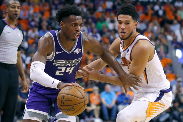 Above-average players are being signed to superstar level contracts. These players include Jaylen Brown, Domantas Sabonis, Buddy Hield, and Dejounte Murray.  AP Photo/Darron Cummings