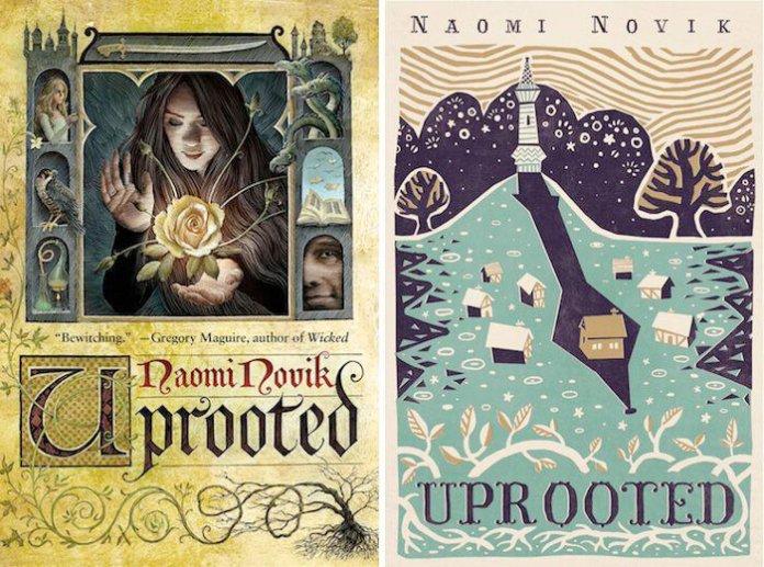 """Uprooted"" by Naomi Novik.  Photo courtesy of    bookpunks.com"