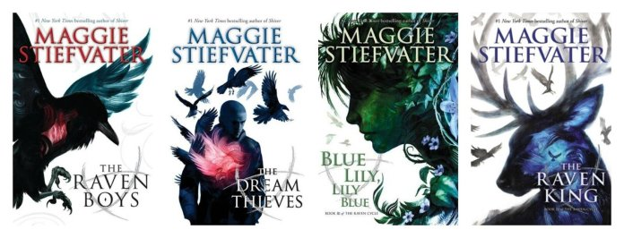 """""""The Raven Cycle"""" is a series of four contemporary novels written by Maggie Stiefvater.  Photo courtesy of    thenerddaily.com"""