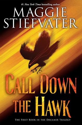 """""""Call Down The Hawk"""" by Maggie Stiefvater.  Photo courtesy of    bookreads.com"""