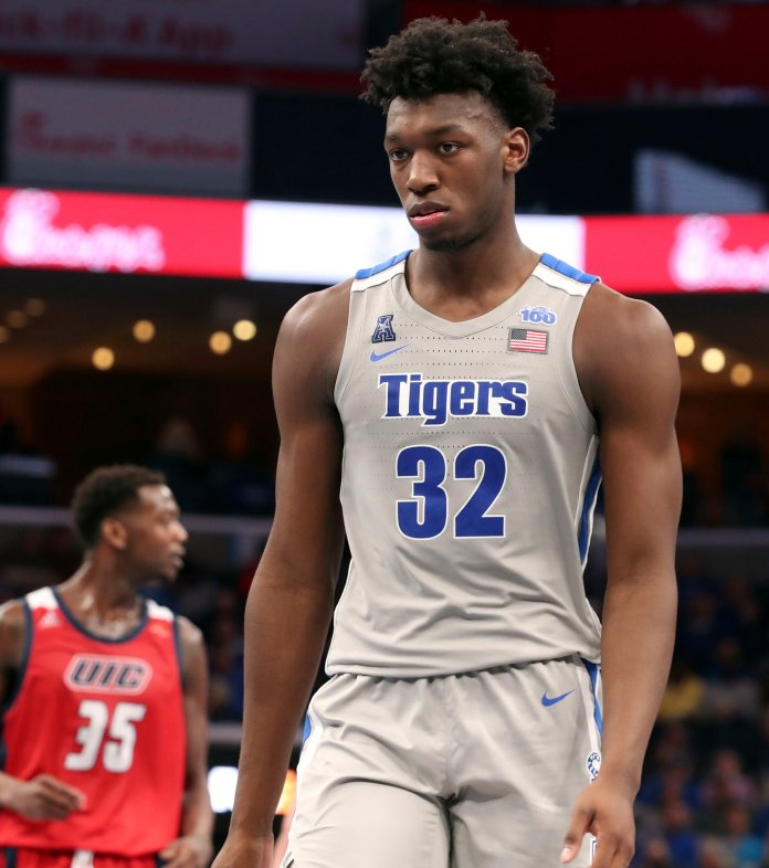 James Wiseman and Chase Young both been deemed ineligible according to the NCAA after receiving money from a third party.  Photo from the Associated Press.