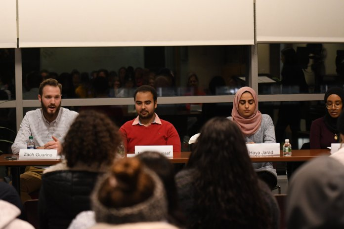 """""""The way I adjust that [people's confusion at his being a white Muslim] is just talking about my experience, the choices that I've made and why I can be myself,"""" Guarino said."""