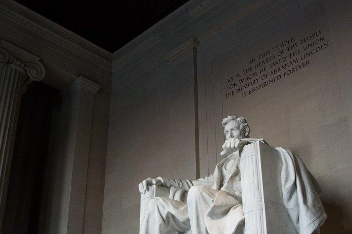 On Nov. 19, 1863, President Abraham Lincoln delivered the Gettysburg Address.  Photo by    Patrick Perkins    on    Unsplash   . Thumbnail photo by    Girma Nigusse    on    Unsplash   .