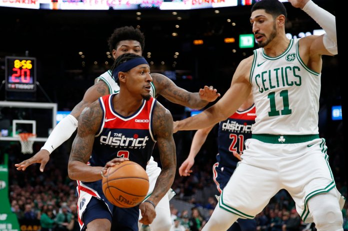 The scariest part for the Celtics was their depleted front court, but even they have done their fair share to help the Celtics this year.  Photo from the Associated Press.