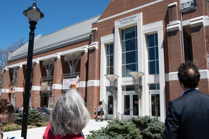 The William Benton Museum of Art was originally constructed in 1920 as the first dining hall in UConn history.  Photo by Avery Bikerman / The Daily Campus.