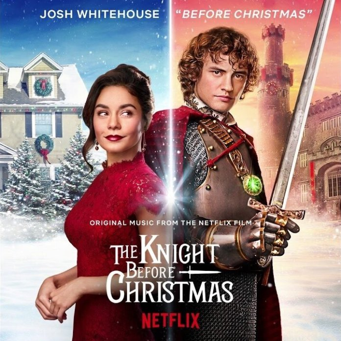 Vanessa Hudgens stars in another Netflix Original Christmas movie. 'The Knight Before Christmas' is cliché like most Hallmark-esque movies but worth the watch.  Photo courtesy of    billboard.com