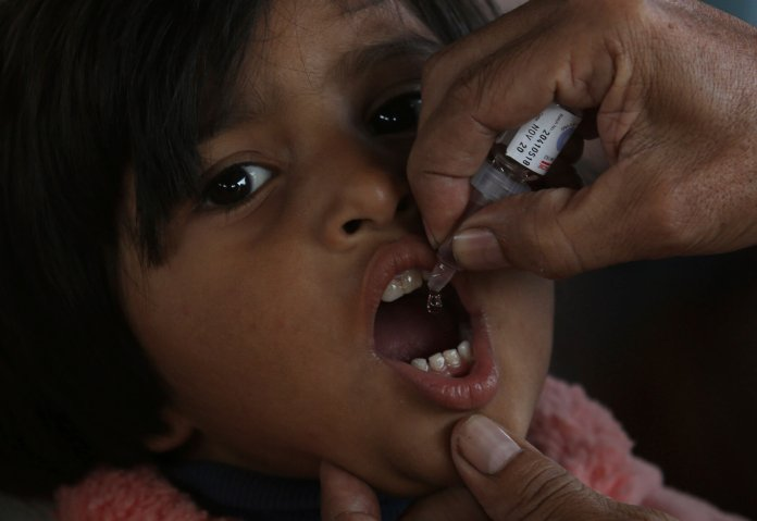 The U.S. has been polio-free since 1979, all thanks to the polio vaccine. Furthermore, there are only three countries in the world with polio transmission.  Photo from the Associated Press.