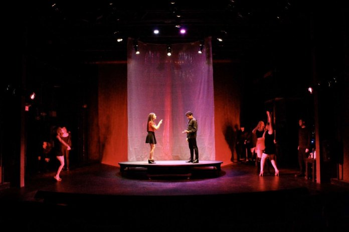 """""""Revolt. She Said. Revolt Again"""" is a play going on at Studio Theatre.  Photo courtesy of Ally Zerio."""