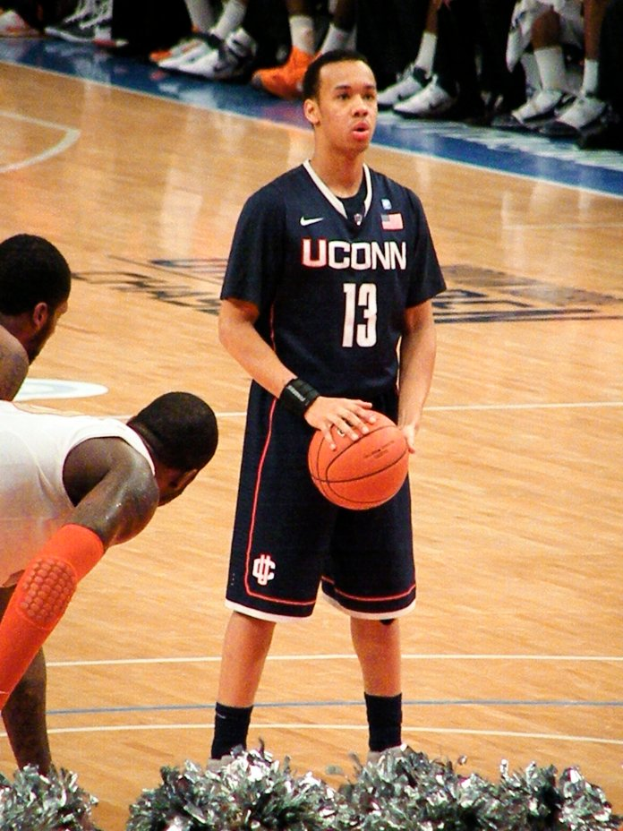 In his four seasons at UConn, Napier accumulated 1,959 points, good for fourth all-time. He also ranks third in assists with 646 and trails only Rashad Anderson for 3-pointers made at 260.  Photo in the    public domain