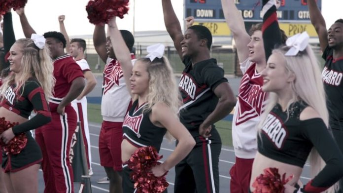 Netflix's 'Cheer' exposes the ups and downs of being a junior collegiate cheerleader. The docu-series focuses on the nation's best cheer team, Navarro and takes viewers through their hardships to be the best.  Photo courtesy of    popsugar.com
