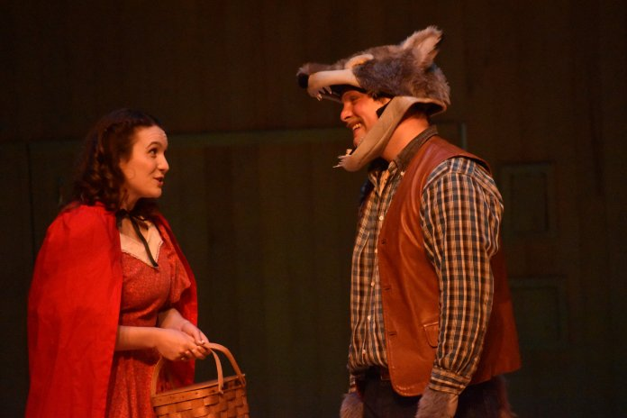 An interactive performance of the Little Red Riding Hood was performed in von der Mehden recital hall in the form of opera. The audience picked the details on set, including the costumes of performers. The Daily Campus / Hanaisha Lewis