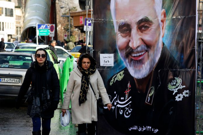 Qassem Soleimani, who was killed in Iraq in a U.S. drone attack, in Tehran, Iran. Iran has had its fingers in Iraq's politics for years, but the U.S. killing of an Iranian general and Iraqi militia commander outside Baghdad has added new impetus to the effort, stoking anti-Americanism that Tehran now hopes it can exploit to help realize the goal of getting U.S. troops out of the country.  Photo courtesy of Vahid Salemi/AP Photo