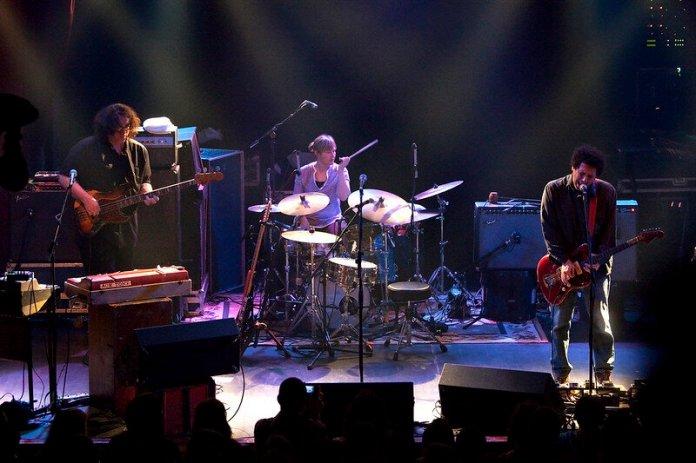 Yo La Tengo performing in 2010.   Photo in the    public domain