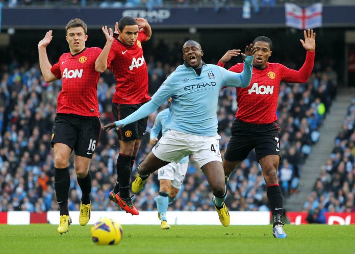 Manchester City exceeded the allotted financial cap in order to sign better players. Along with the suspension fans also want some of the Premier League titles revoked.  Photo by tensai akage via Flickr Creative Commons.