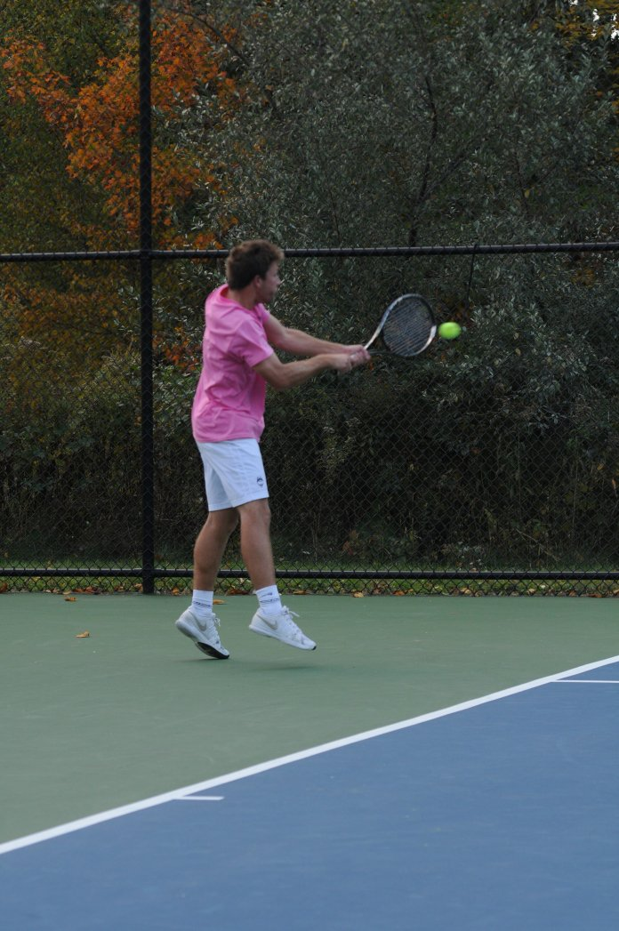 UConn's tennis teams had an up and down weekend, with the women winning one but the men losing both.  File Photo/The Daily Campus.