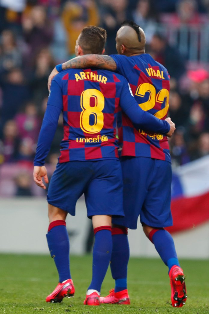 F.C. Barcelona will play Napoli in their Round of 16 matchup. They are heavy favorites due to their complete team.  Photo by Joan Monfort/AP.