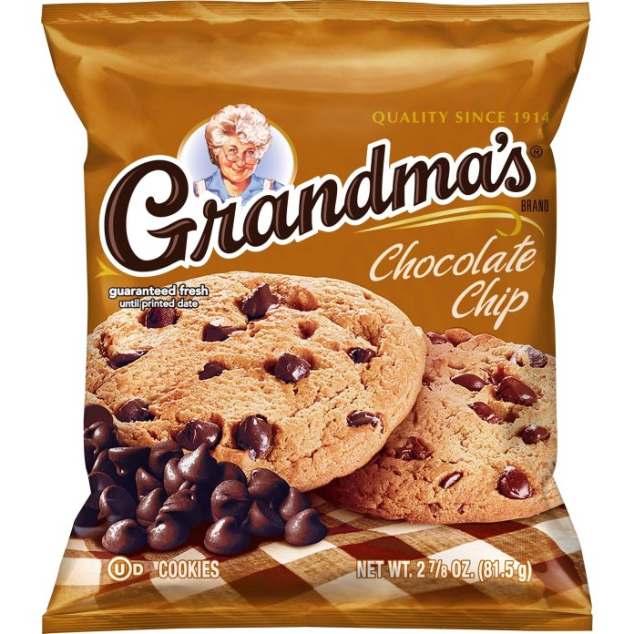 Grandma's Cookies are actually good and do not deserve the unwarranted hate they often receive.  Photo via    Dollar General