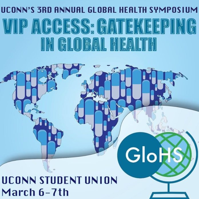 UConn will be hosting their 3rd annual Global Health Symposium on March 6th and March 7th.  @uconnglohsoc