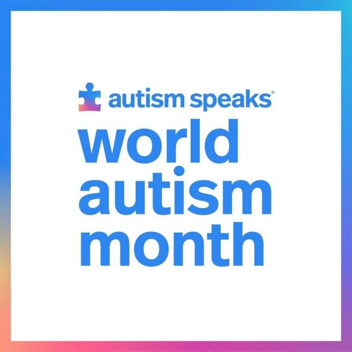 April is World Autism Awareness Month.  Photo via.    @autismspeaks
