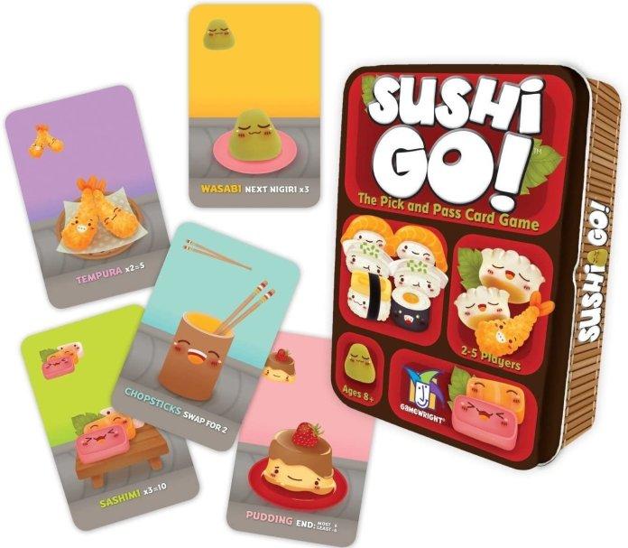 """""""Sushi Go!""""  Photo courtesy of    amazon.com"""