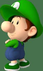 Image of Baby Luigi courtesy of    Mario Super Sluggers    on    mariowiki.com   .