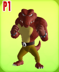 Image of Red Kritter courtesy of    Mario Super Sluggers    on    mariowiki.com   .