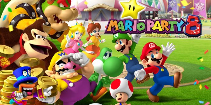 Mario Party 8 was the first game in the series that could be played on the Wii. But instead of improving the game with the new system, this one left players wanting a lot more then the poor graphics and creepy MC they gave us.  Photo courtesy of nintendo.co.za.