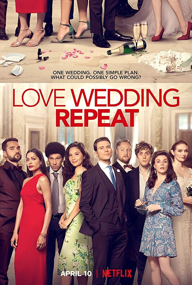 """""""Love Wedding Repeat"""" joins an ever growing list of Netflix-original Romantic Comedy movies. But in a rare case, this edition came up a little bit short on the laughs.  Photo courtesy of IMDb.com"""