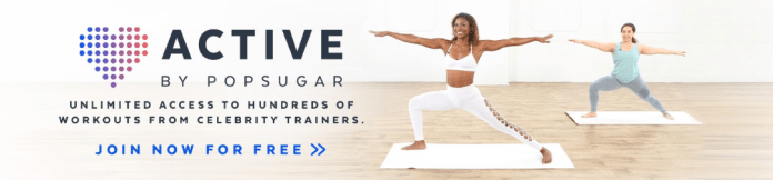 While everyone is locked in their houses for quarantine, it may feel like the only thing you can do is eat food and sit on your couch. But POPSUGAR Fitness offers a healthy alternative, with plenty of at-home workout routines to keep you busy and in shape.  Photo via    POPSUGAR Fitness' YouTube   .