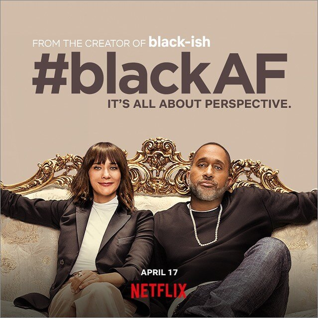 '#blackAF' is a new show that recently hit Netflix on April 17th. It is a mockumentary style show that is centered around a black family.  Image via @   blackafnetflix