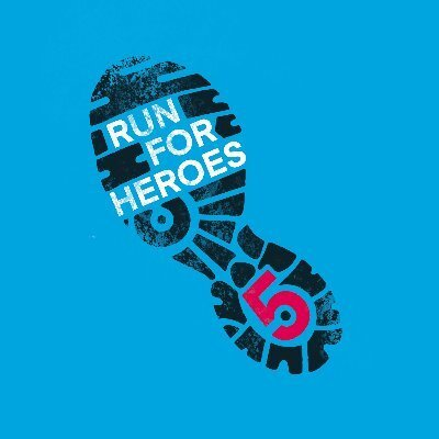 Run.For.Heroes is based in the U.K. and also used running 5Ks as a tactic to fund. They raised over $4 million to fight COVID-19 with runners coming from across the globe.  Photo via Twitter    @run_for_heroes