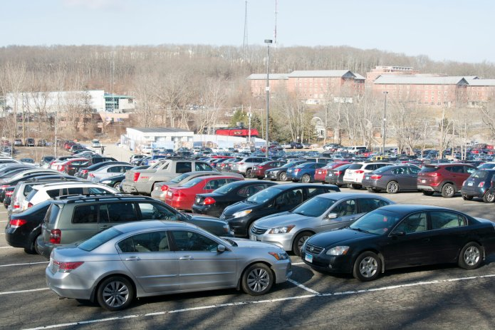UConn students will be receiving parking permit refunds from Parking Services for the remainder of the spring 2020 semester.  File Photo/The Daily Campus