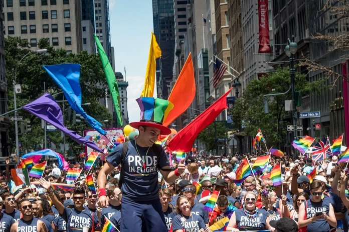 In times of isolation and fear it is now more important than people come together to celebrate this important occasion. Now instead of hosting pride parades in each state, the goal is to have a global pride to celebrate nationwide.  Photo via commons.wikimedia.org.
