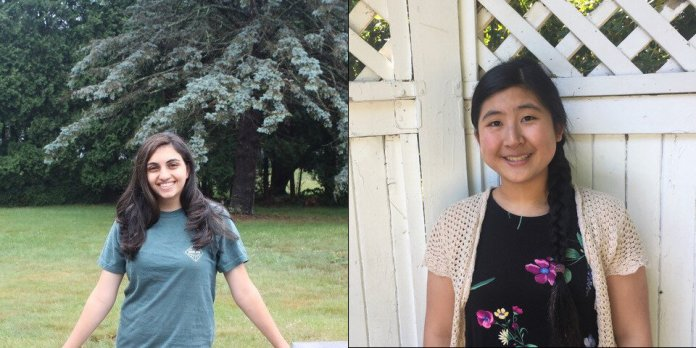 Norah Kader on left, Serene Feng on right.  Images courtesy of Norah Kader and Serene Feng