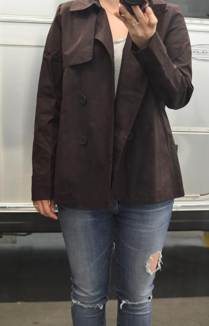 everlane swing trench review fairly